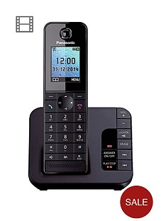 panasonic-tgh-220eb-cordless-telephone-with-answering-machine-and-nuisance-call-block-single