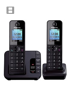 panasonic-tgh-222eb-cordless-telephone-with-answering-machine-and-nuisance-call-block-twin