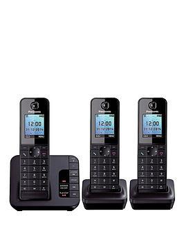 panasonic-tgh-223eb-cordless-telephone-with-answering-machine-and-nuisance-call-block-trio