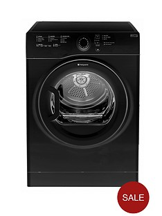 hotpoint-tvfs73bgk-7kg-load-sensor-vented-dryer-black