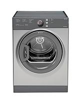 Aquarius TVFS73BGG 7kg Load Vented Sensor Dryer - Graphite