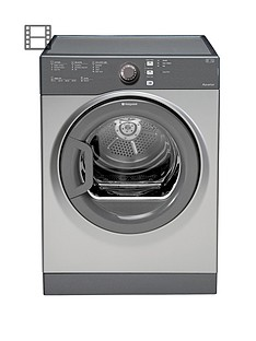 hotpoint-aquarius-tvfs73bgg-7kg-load-vented-sensor-dryer-graphite