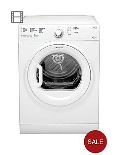 hotpoint-aquarius-tvfs73bgp-7kg-load-vented-dryer-white