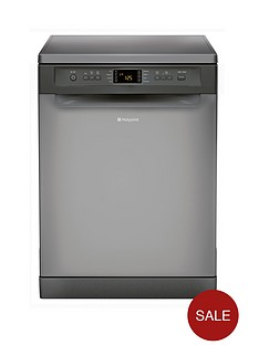 hotpoint-fdfex11011gl-13-place-full-size-dishwasher-graphite
