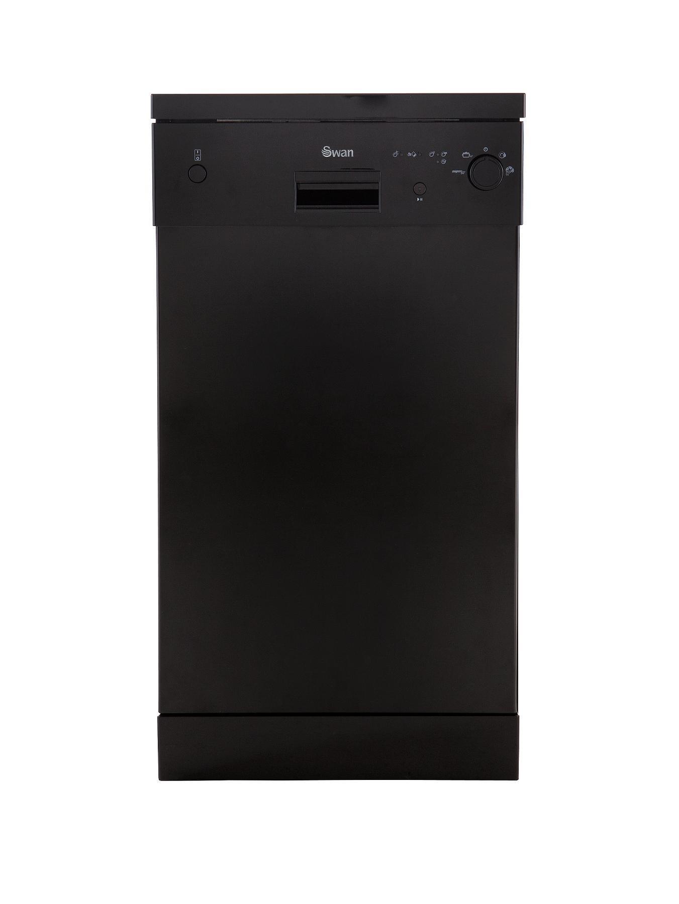 SDW2010B 10 Place Slimline Dishwasher - Black at Littlewoods
