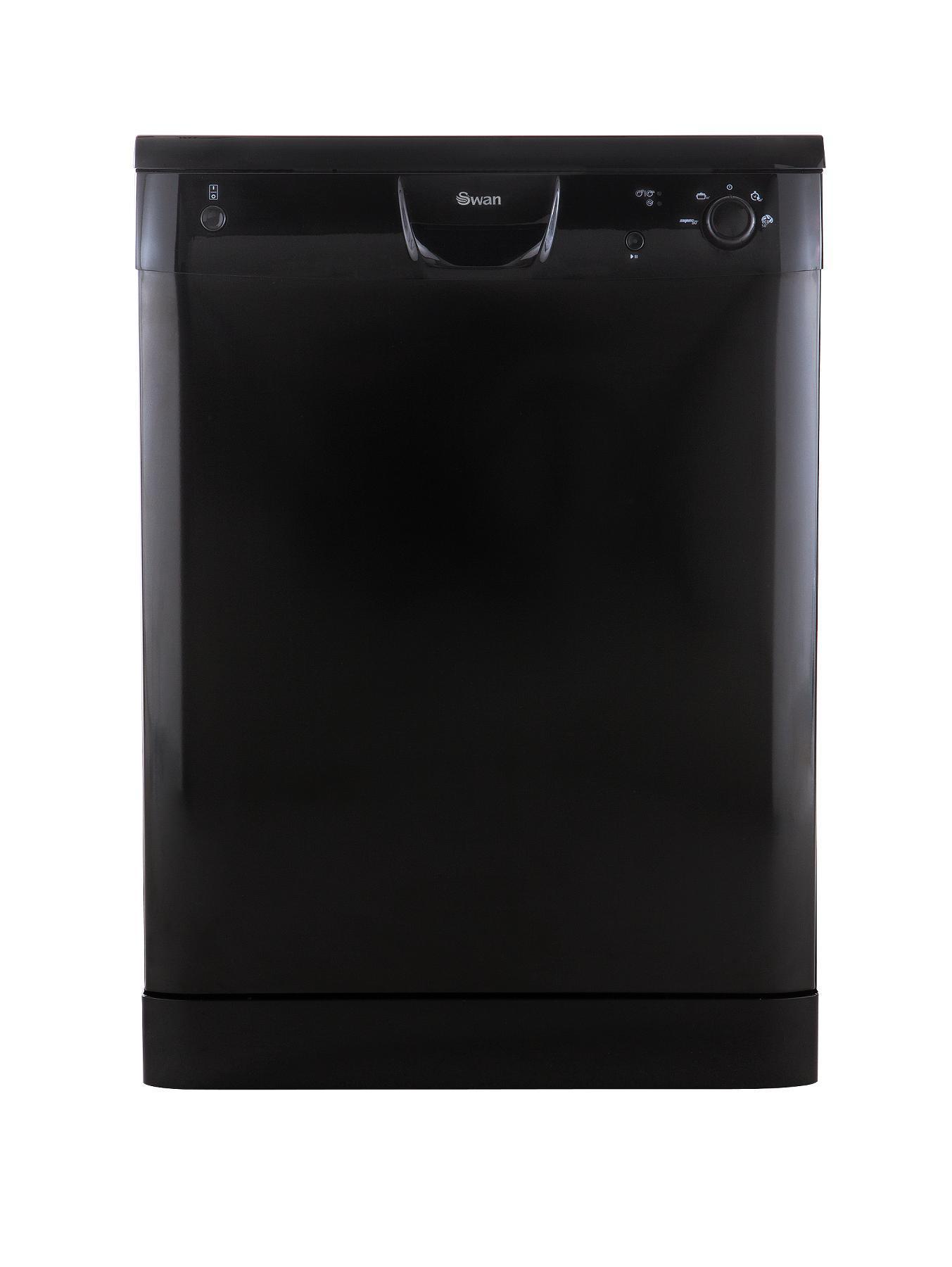 SDW2020B 12 Place Full Size Dishwasher - Black at Littlewoods
