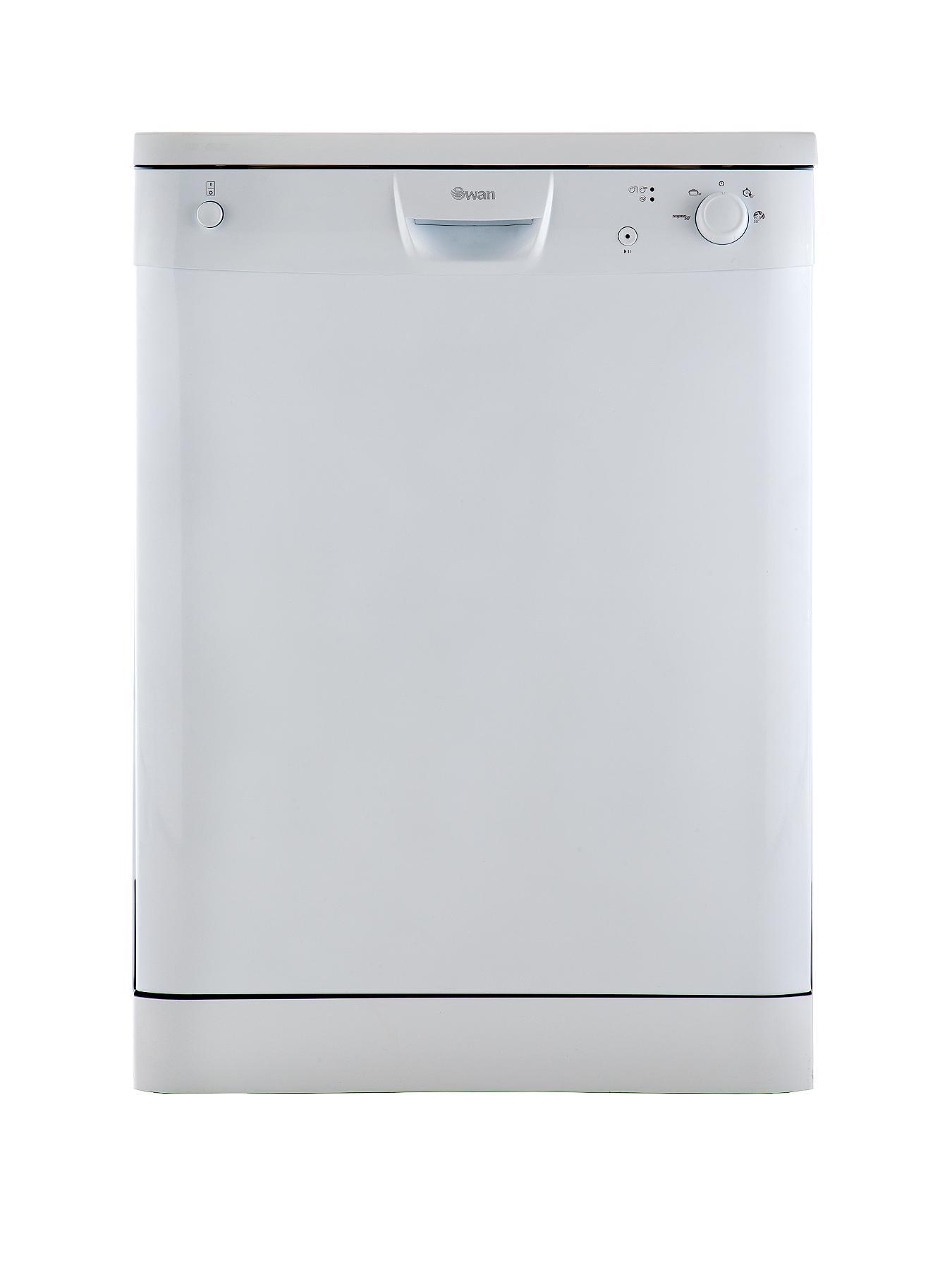 SDW2020W 12 Place Full Size Dishwasher - White at Littlewoods