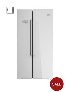 beko-asl141w-usa-style-fridge-freezer-white