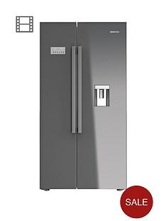 beko-asd241s-usa-style-frost-free-fridge-freezer--silver