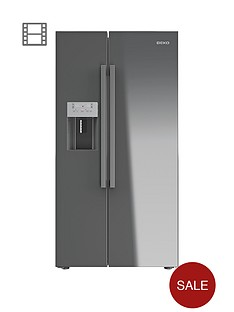 beko-asp341s-usa-style-fridge-freezer-with-waterice-dispenser-silver