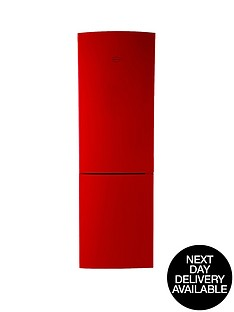 swan-sr9052r-60cm-fridge-freezer-red-next-day-delivery