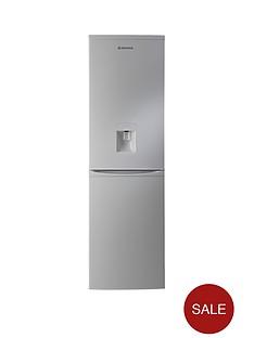 hoover-hvbf5182awk-55-cm-frost-free-fridge-freezer-silver