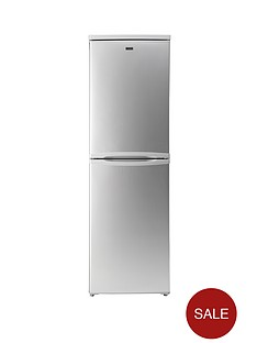 candy-ccbf5172sk-55-cm-frost-free-fridge-freezer-silver