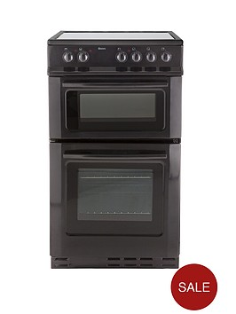 swan-sx2020b-ceramic-twin-cavity-50cm-electric-cooker-next-day-delivery-black