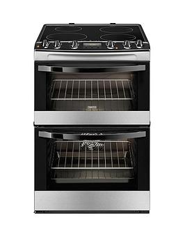 zanussi-zci68300xa-60-cm-electric-induction-double-oven-stainless-steel