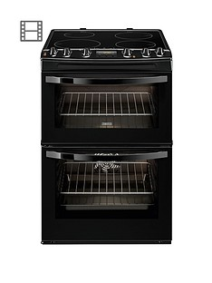 zanussi-zanussi-zci68300ba-60-cm-electric-induction-double-oven-black