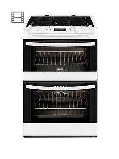 zanussi-zci68300wa-60-cm-electric-induction-double-oven-white