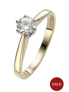 moissanite-50pt-solitaire-9-carat-yellow-gold-ring