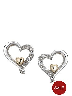love-silver-open-heart-stud-earrings-in-sterling-silver-and-9-carat-gold-with-cubic-zirconia-setting