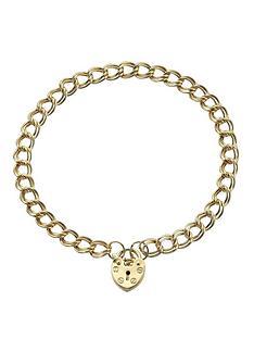 love-gold-9-carat-heart-padlock-bracelet
