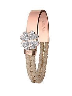 folli-follie-four-heart-motif-rose-gold-plated-and-caramel-cord-bracelet