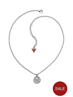 guess-rhodium-plated-crystal-ball-pendant-necklace