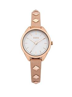 oasis-white-dial-pink-strap-ladies-watch