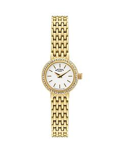 rotary-crystal-bezel-gold-plated-stainless-steel-bracelet-watch
