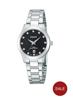 pulsar-stainless-steel-ladies-watch