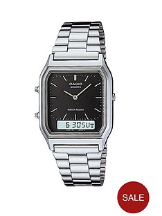 casio-dual-display-bracelet-unisex-watch