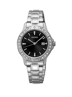 seiko-stainless-steel-swarovski-crystal-set-bezel-ladies-watch
