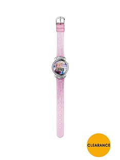 disney-frozen-pink-glitter-strap-watch