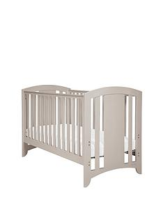 mamas-papas-harbour-cot-bed-putty