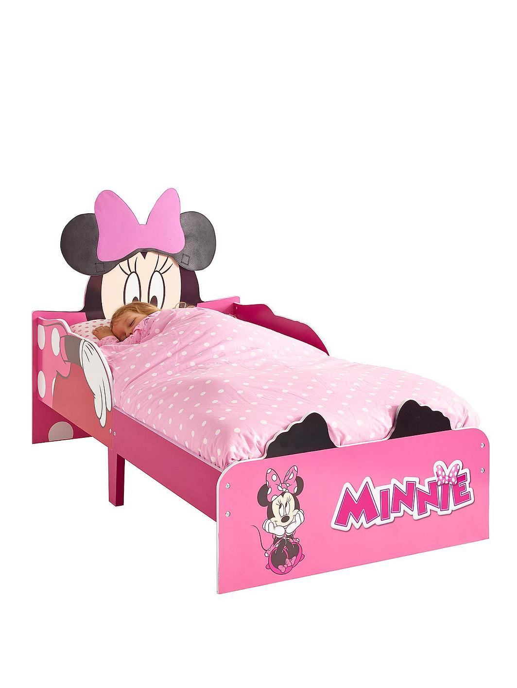 minnie mouse toddler bed instructions