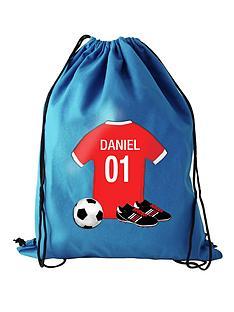 personalised-football-swim-bag