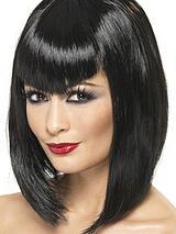 Halloween Ladies Vamp Black Wig