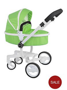 silver-cross-surf-dolls-pram-green