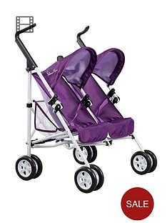 silver-cross-pop-duo-dolls-stroller-damson