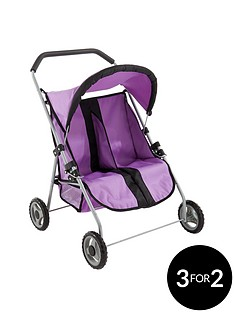 small-wonders-dolls-twin-pushchair