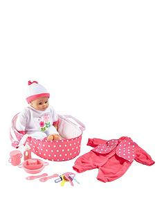small-wonders-41-cm-talking-baby-gift-set