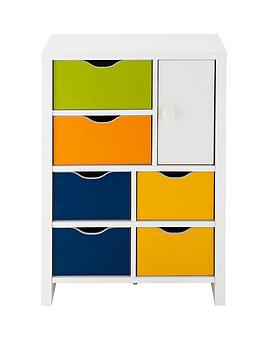 kidspace-jazz-6-drawers-1-door-chest-multi