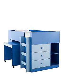 ladybird-orlando-mid-sleeper-bed-desk-and-storage-with-optional-mattress