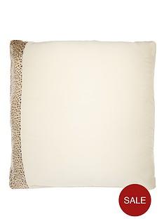 kylie-minogue-leopard-ivory-square-pillowcase