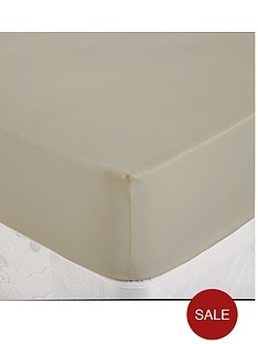 dorma-cotton-sateen-plain-dyed-fitted-sheet