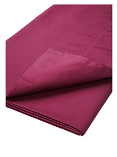 dorma-cotton-sateen-plain-dyed-flat-sheet