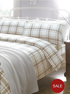 brushed-cotton-check-bedding-range