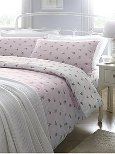 brushed-cotton-floral-duvet-cover-set-pink