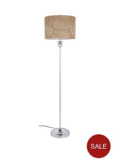 damask-floor-lamp