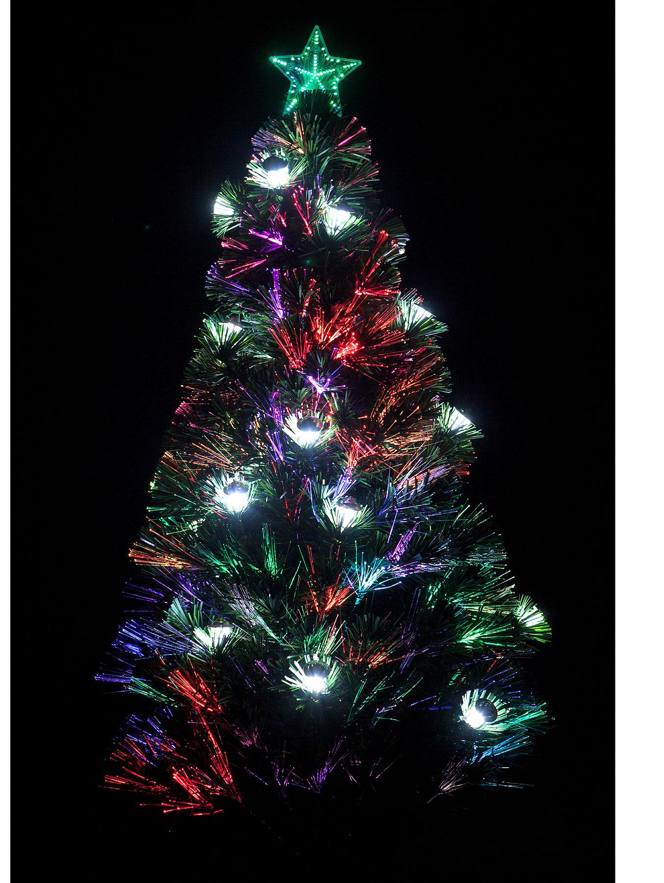 4ft Lantern Fibre Optic Tree