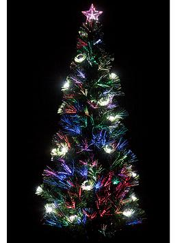 5ft Lantern Fibre Optic Tree